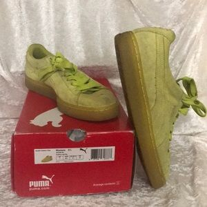 Gently Used Puma Suede Classic Clea US W9.5 Rare